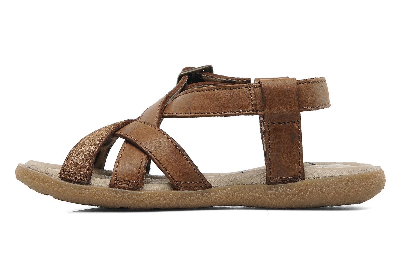 Sandalen Buggy Bagou Bruin voorkant