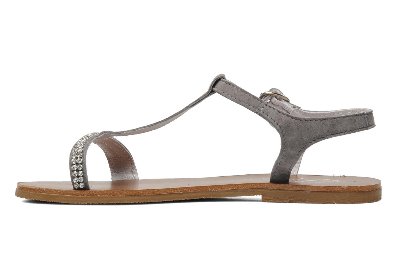 Sandales et nu-pieds Acebo's Mimosa Gris vue face