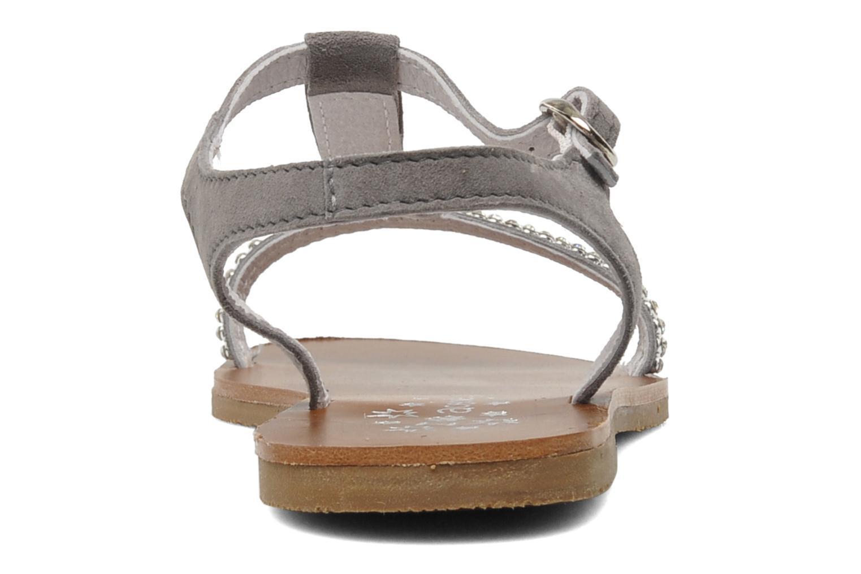 Sandales et nu-pieds Acebo's Mimosa Gris vue droite