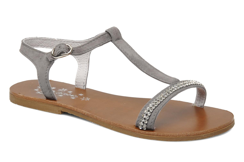 Sandales et nu-pieds Acebo's Mimosa Gris vue détail/paire
