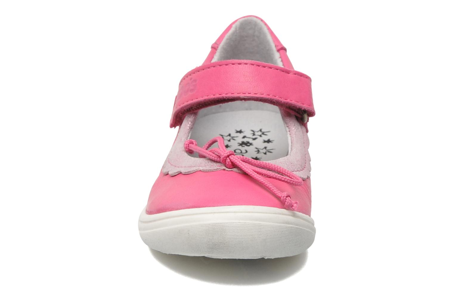 Ballerines Acebo's Pansy Rose vue portées chaussures