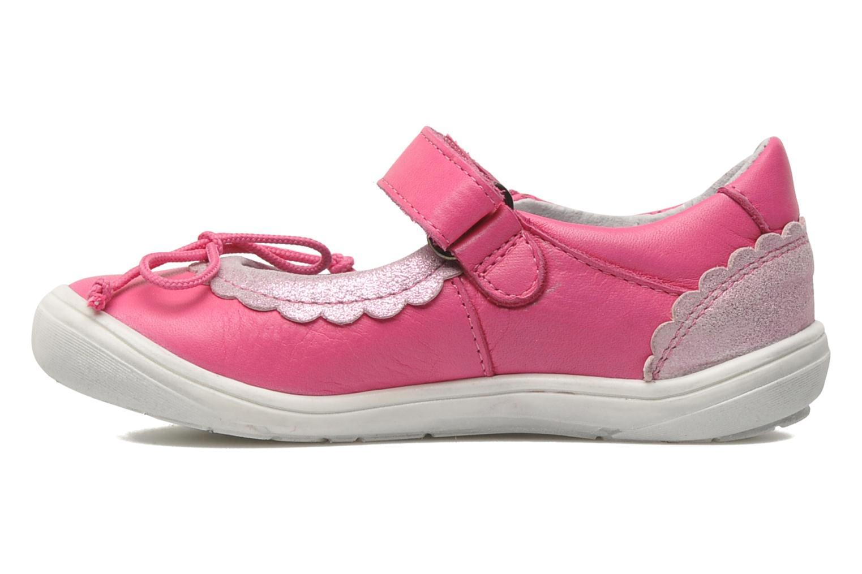 Ballerinas Acebo's Pansy rosa ansicht von vorne