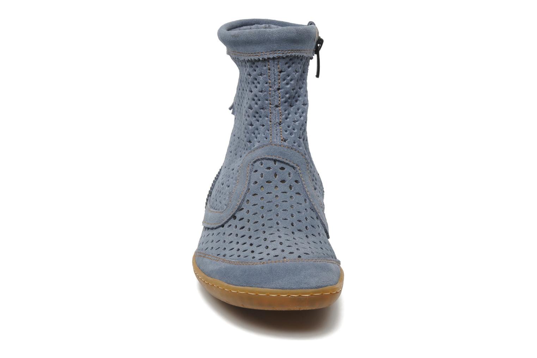 Bottines et boots El Naturalista El Viajero N262 W Bleu vue portées chaussures