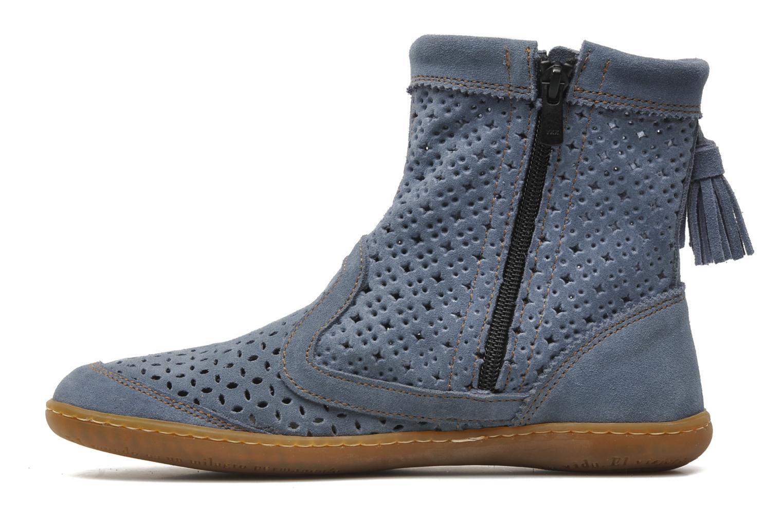 Ankle boots El Naturalista El Viajero N262 W Blue front view