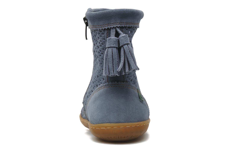 Bottines et boots El Naturalista El Viajero N262 W Bleu vue droite