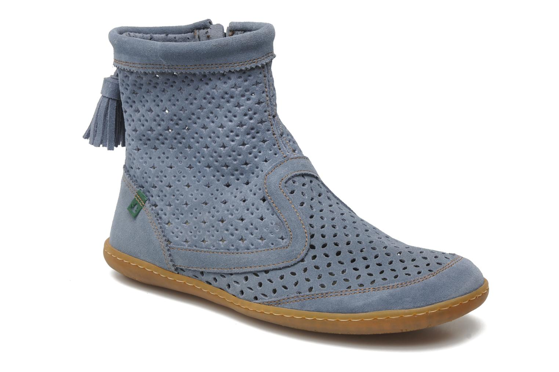 Boots en enkellaarsjes El Naturalista El Viajero N262 W Blauw detail