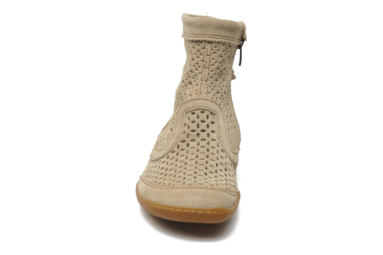 Bottines et boots El Naturalista El Viajero N262 W Beige vue portées chaussures