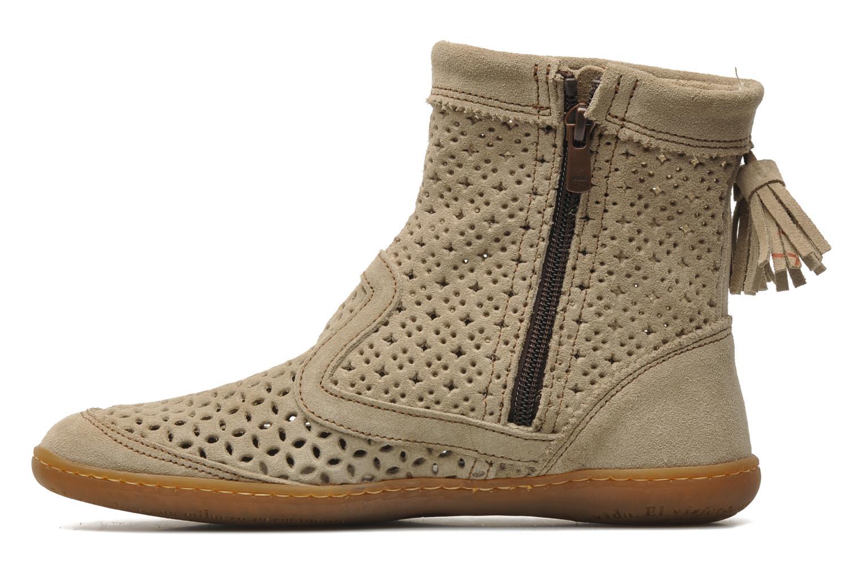Ankle boots El Naturalista El Viajero N262 W Beige front view