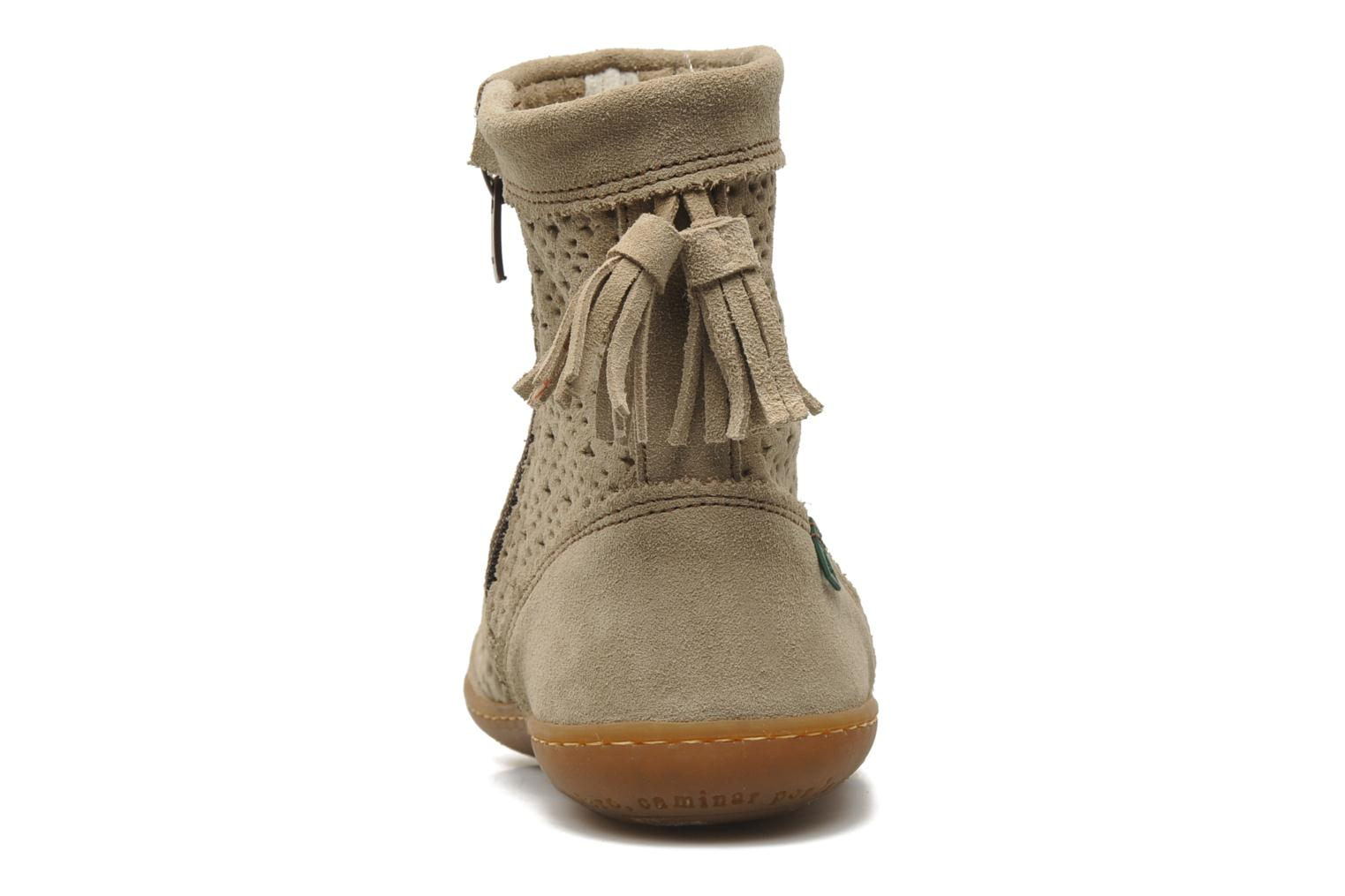 Ankle boots El Naturalista El Viajero N262 W Beige view from the right