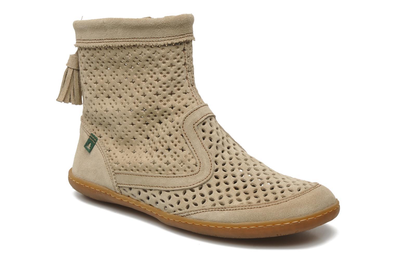 Bottines et boots El Naturalista El Viajero N262 W Beige vue détail/paire