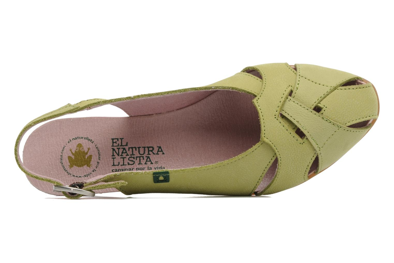 Sandales et nu-pieds El Naturalista Stella 031 Vert vue gauche