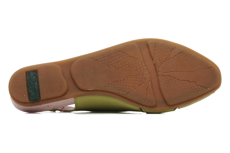 Sandales et nu-pieds El Naturalista Stella 031 Vert vue haut