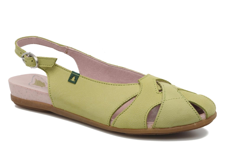 Sandales et nu-pieds El Naturalista Stella 031 Vert vue détail/paire
