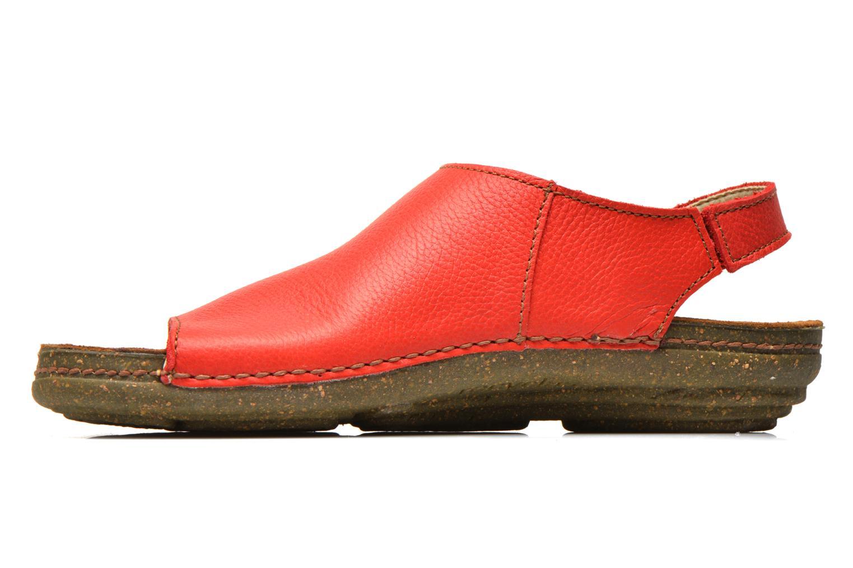 Sandales et nu-pieds El Naturalista Torcal N309 Rouge vue face
