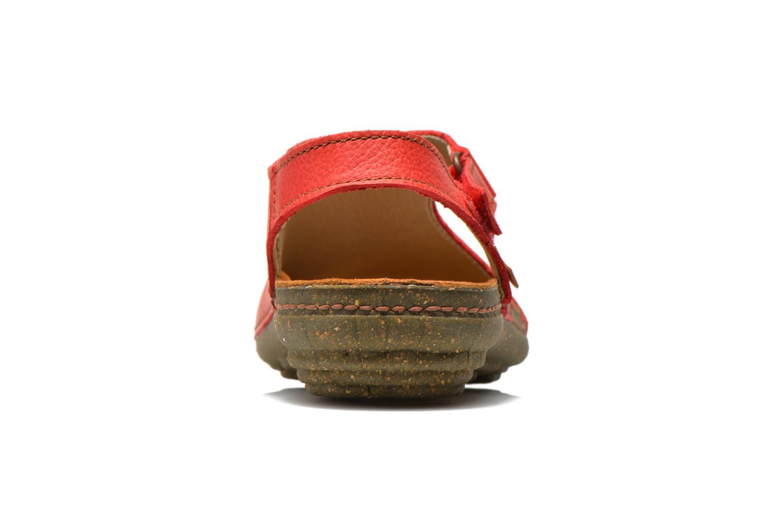 Sandales et nu-pieds El Naturalista Torcal N309 Rouge vue droite