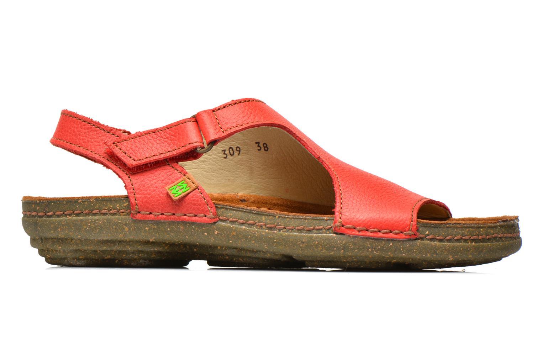 Sandales et nu-pieds El Naturalista Torcal N309 Rouge vue derrière