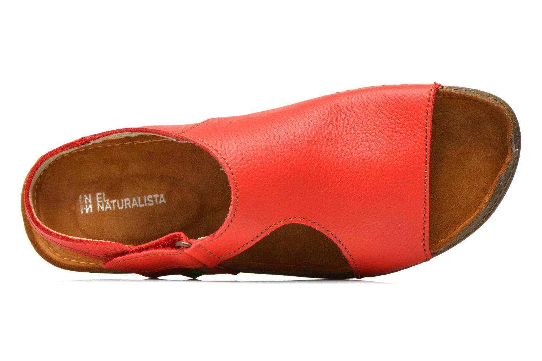 Sandales et nu-pieds El Naturalista Torcal N309 Rouge vue gauche