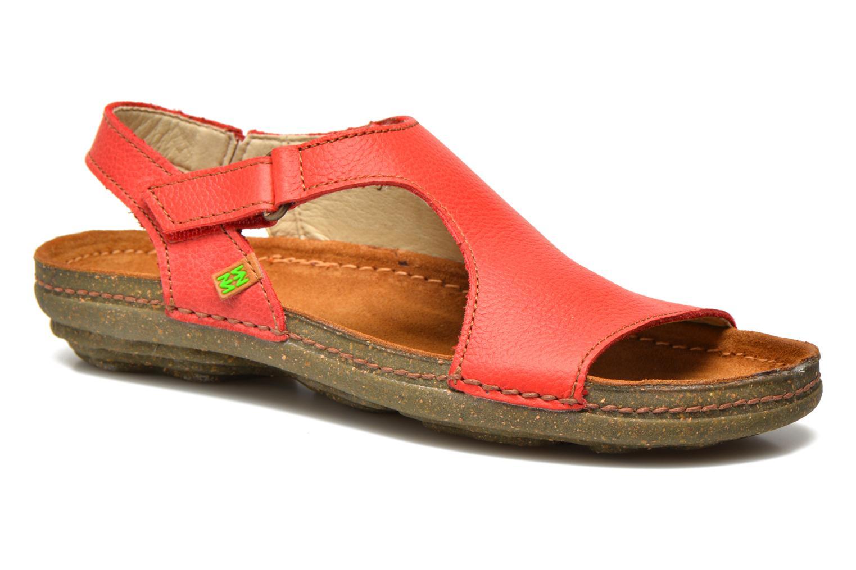 Sandales et nu-pieds El Naturalista Torcal N309 Rouge vue détail/paire