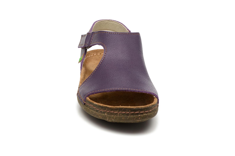 Sandales et nu-pieds El Naturalista Torcal N309 Violet vue portées chaussures