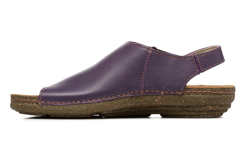 Sandales et nu-pieds El Naturalista Torcal N309 Violet vue face