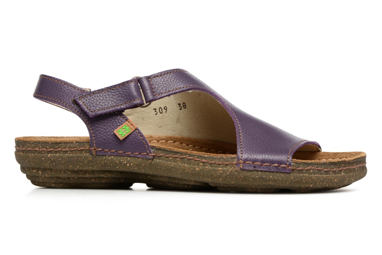 Sandales et nu-pieds El Naturalista Torcal N309 Violet vue derrière