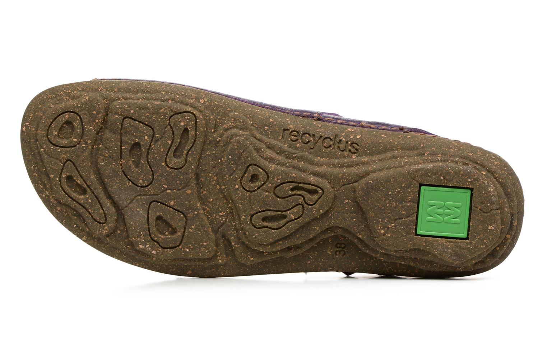 Sandales et nu-pieds El Naturalista Torcal N309 Violet vue haut