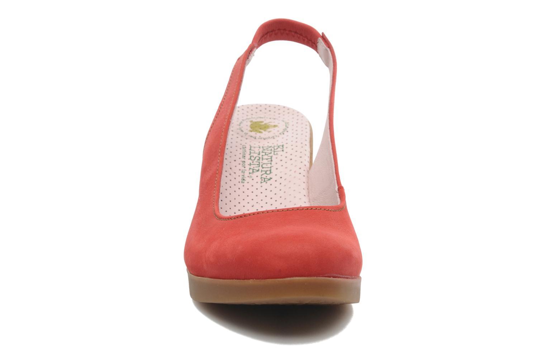 Escarpins El Naturalista Espiral N583 Rouge vue portées chaussures