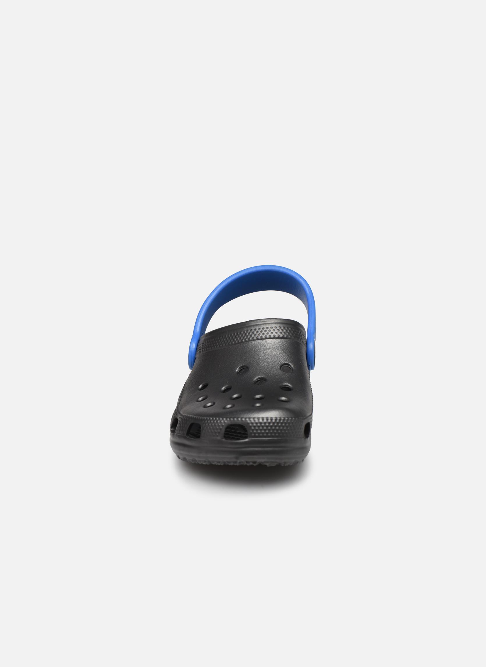 Sandalen Crocs Classic Kids Power Pack grau schuhe getragen