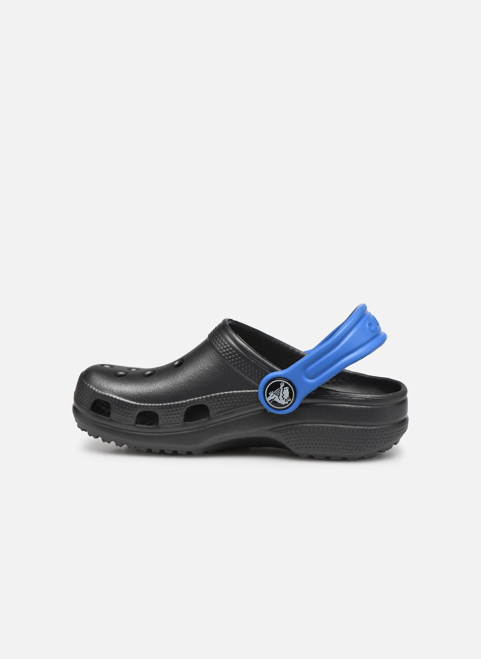 Sandalen Crocs Classic Kids Power Pack grau ansicht von vorne