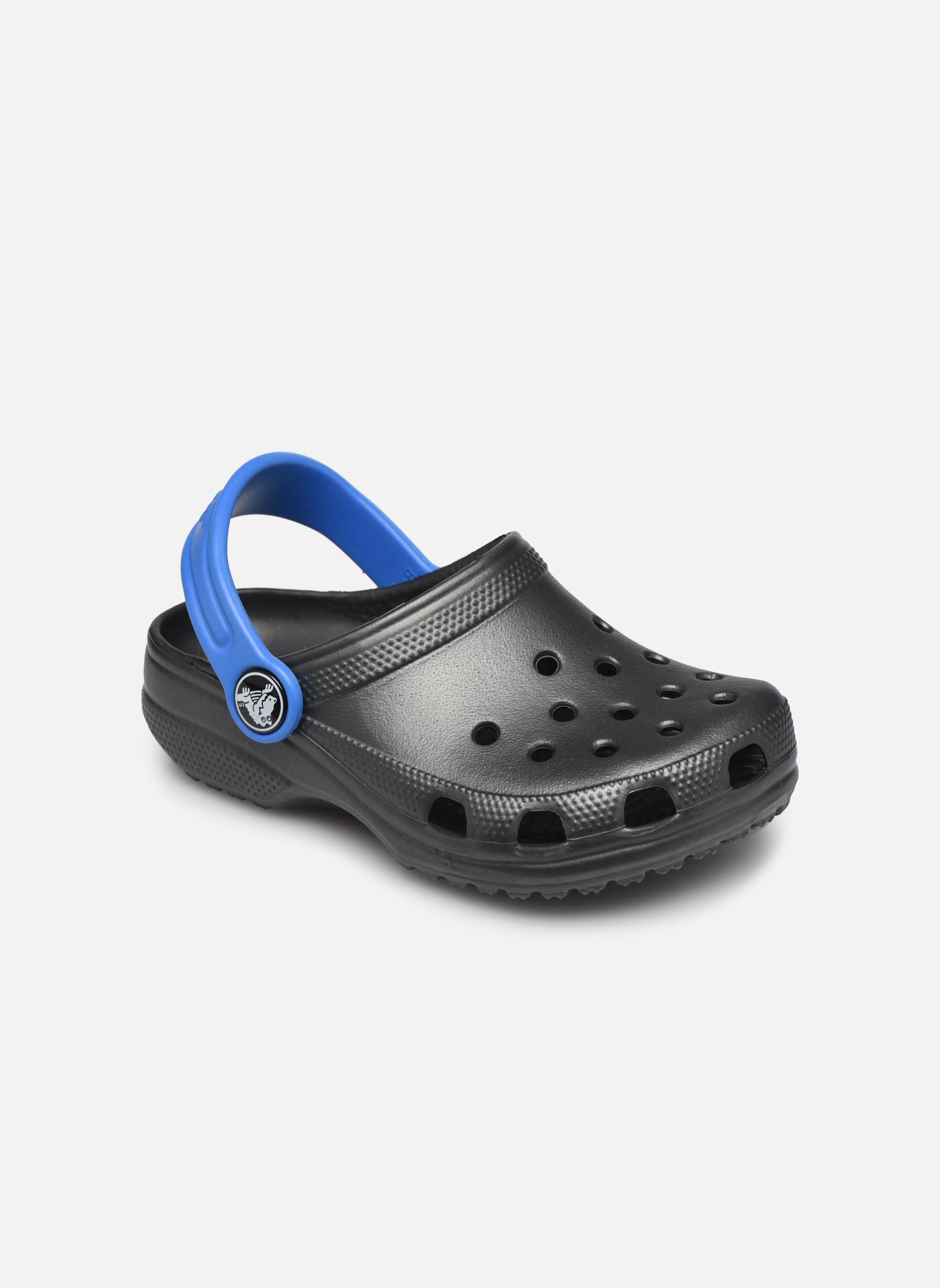Sandalen Crocs Classic Kids Power Pack grau detaillierte ansicht/modell