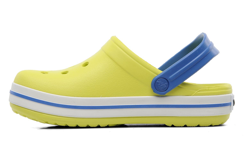 Sandalen Crocs Crocband Kids Power Pack Groen voorkant