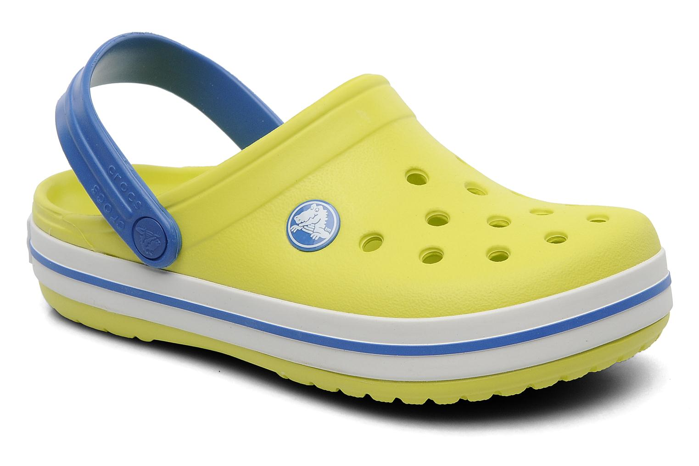 Sandalen Crocs Crocband Kids Power Pack Groen detail