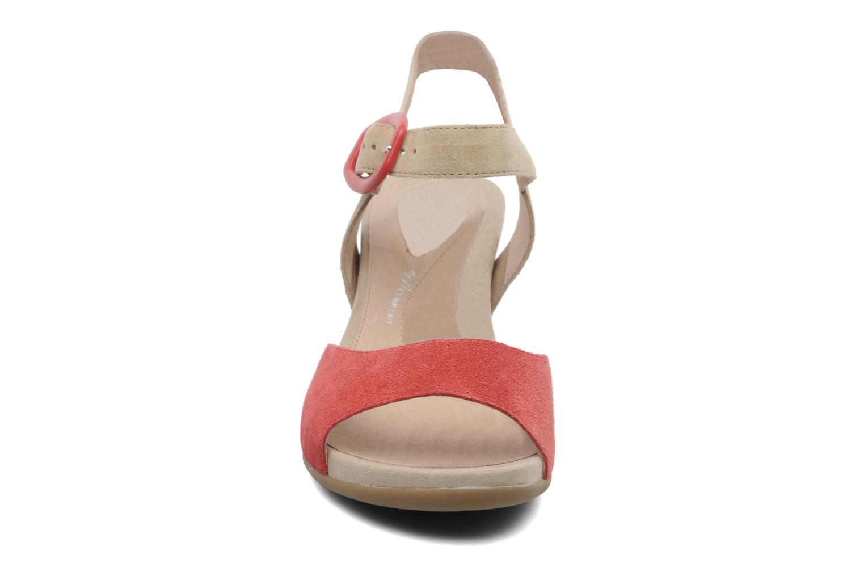 Sandales et nu-pieds Stonefly Athena 29 Rouge vue portées chaussures
