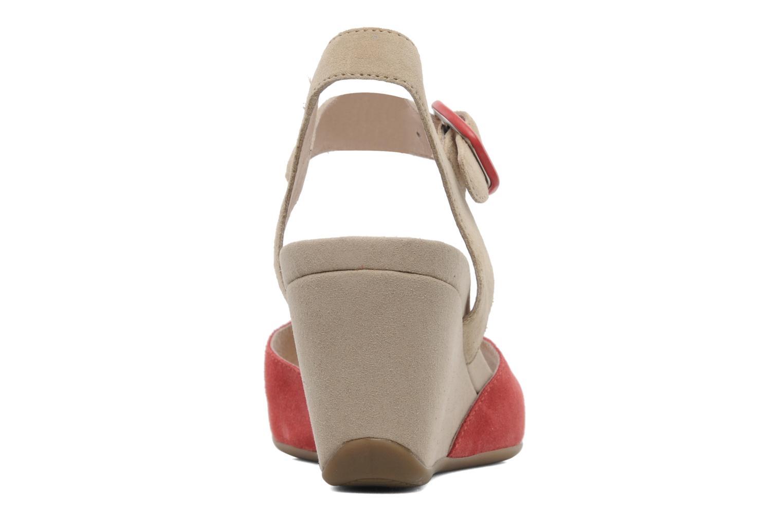 Sandales et nu-pieds Stonefly Athena 29 Rouge vue droite
