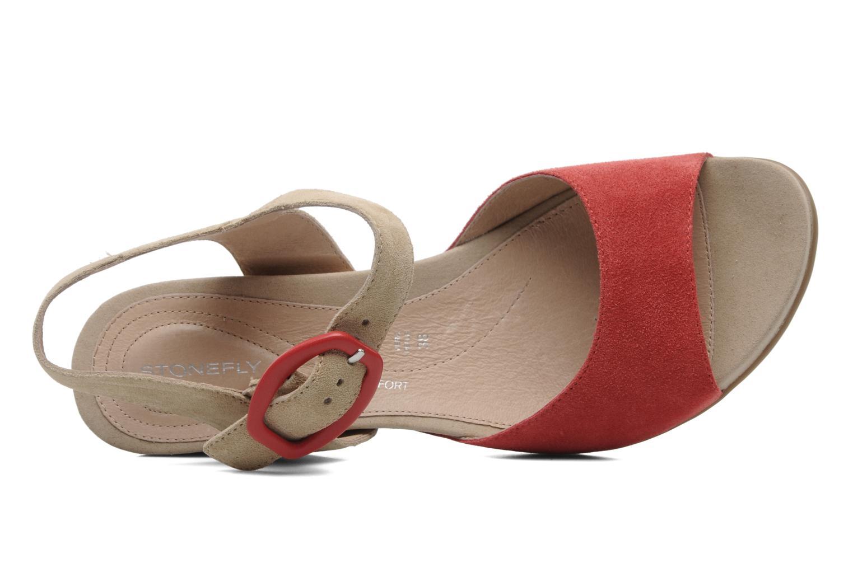 Sandales et nu-pieds Stonefly Athena 29 Rouge vue gauche