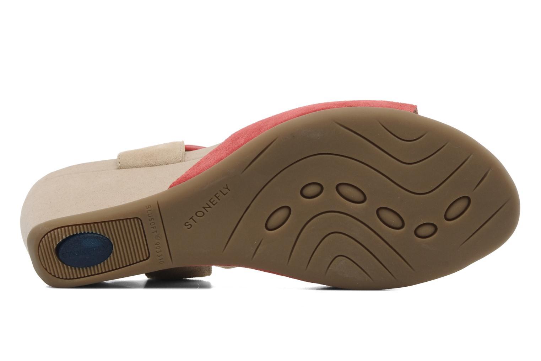 Sandales et nu-pieds Stonefly Athena 29 Rouge vue haut