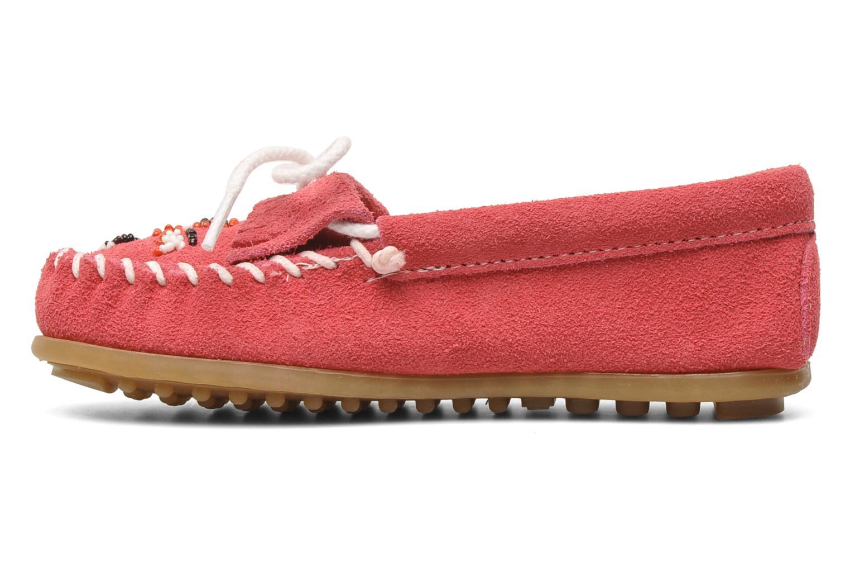 Loafers Minnetonka Thunderbird II Moc G Pink se forfra