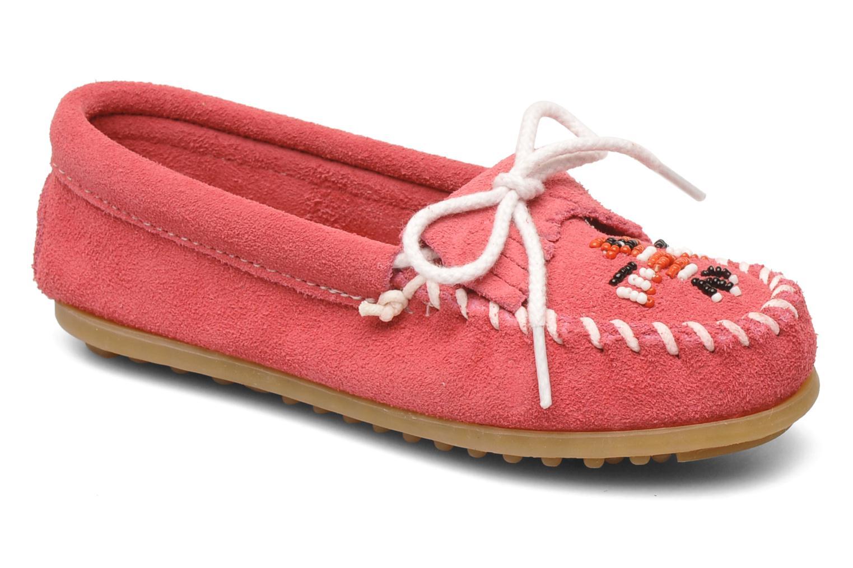 Loafers Minnetonka Thunderbird II Moc G Pink detaljeret billede af skoene