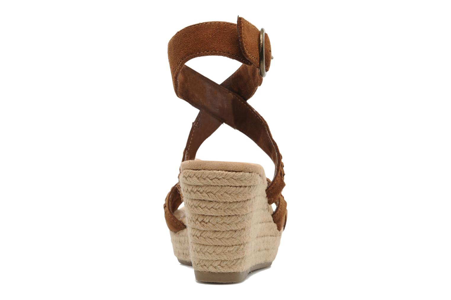 Sandals Minnetonka Haley Brown view from the right