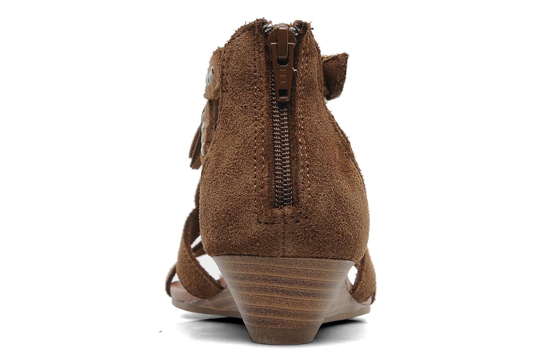 Sandales et nu-pieds Minnetonka Monaco Marron vue droite
