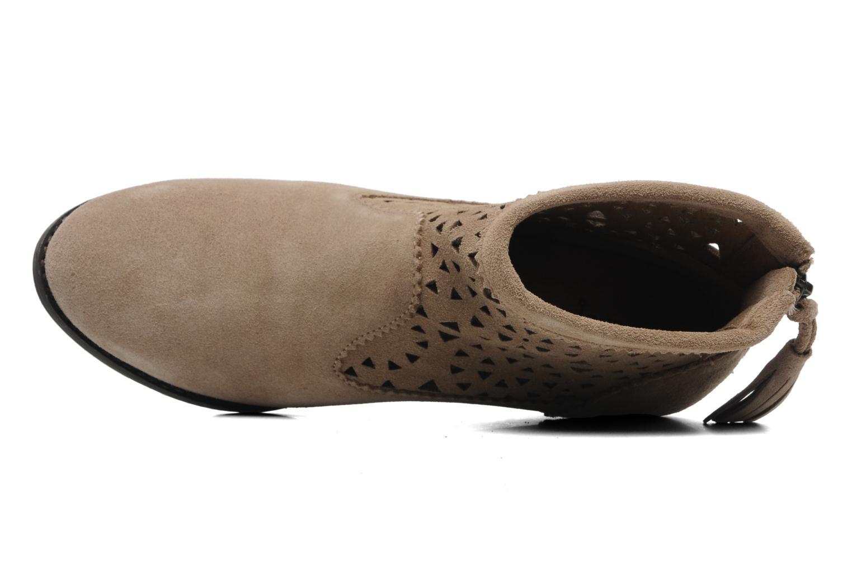 Bottines et boots Minnetonka Cutout Boot Beige vue gauche