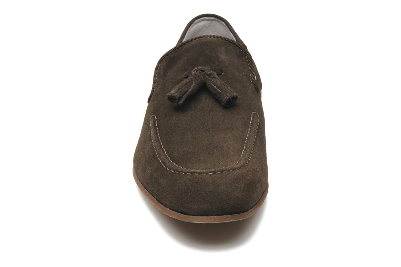 Mocassins Marvin&Co Nicapone Marron vue portées chaussures