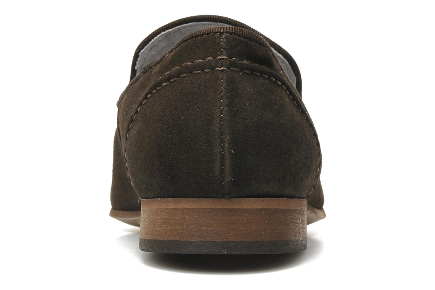 Loafers Marvin&co Nicapone Brown view from the right