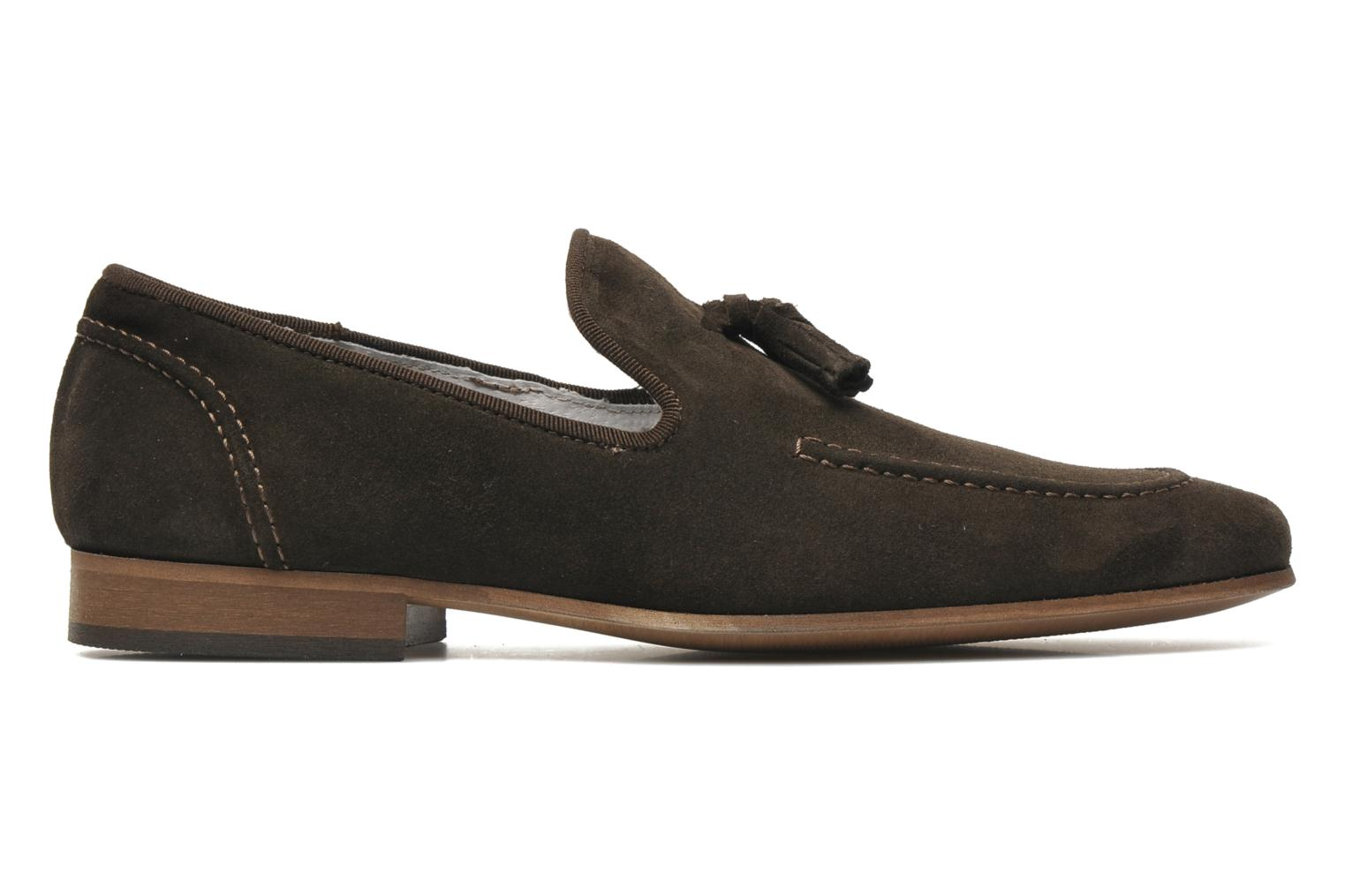 Loafers Marvin&co Nicapone Brown back view