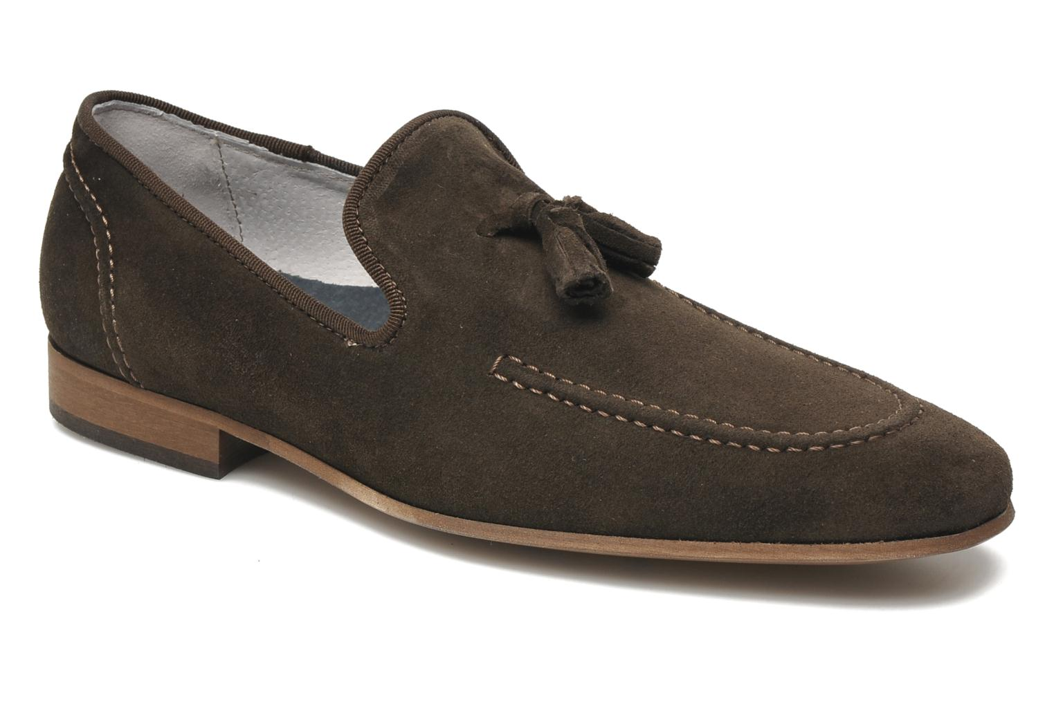 Loafers Marvin&co Nicapone Brown detailed view/ Pair view