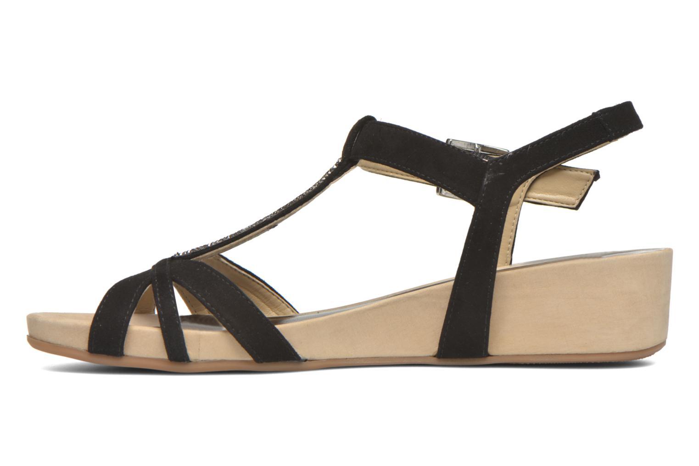 Sandals Unisa Boili Black front view