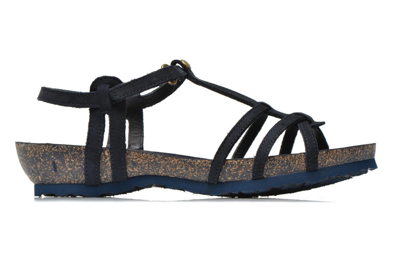 Sandalen Panama Jack Dori Blauw achterkant