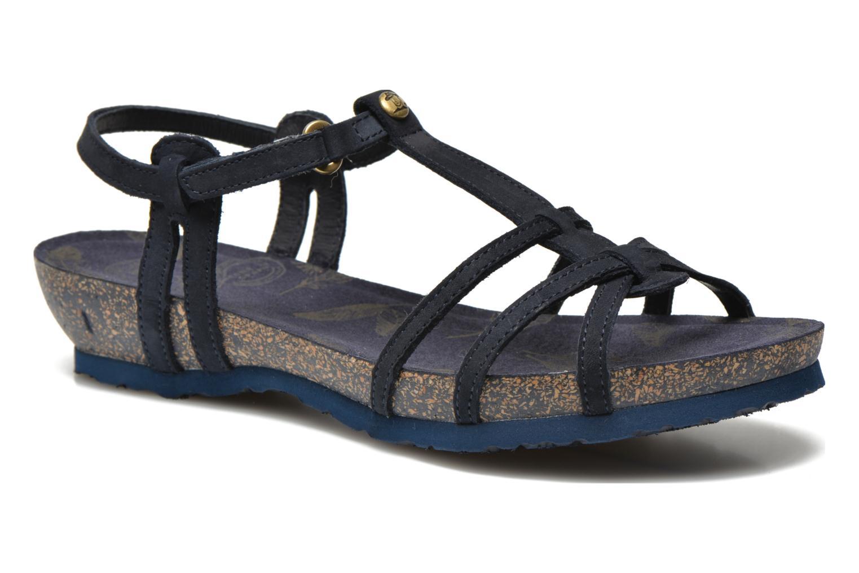 Sandalen Panama Jack Dori Blauw detail