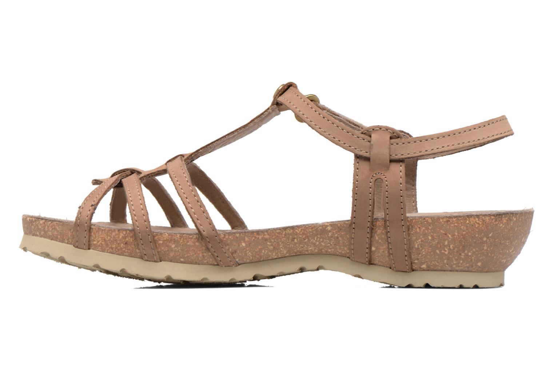 Sandali e scarpe aperte Panama Jack Dori Marrone immagine frontale