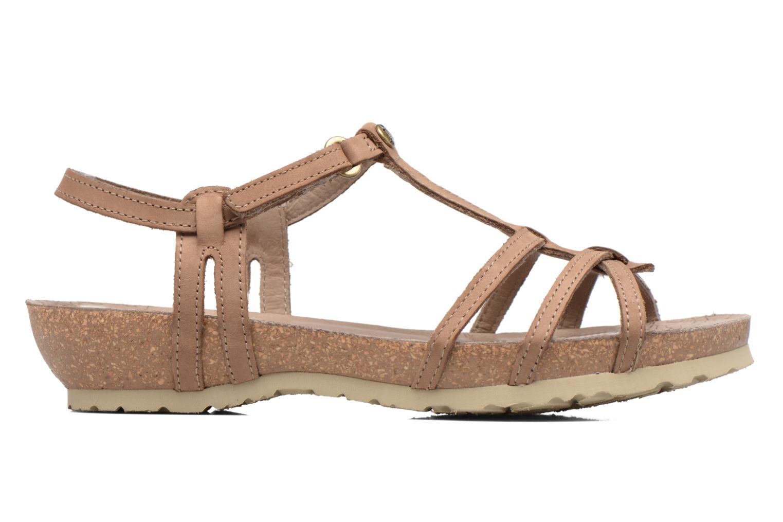 Sandalen Panama Jack Dori braun ansicht von hinten